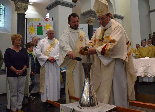 Soignies accueille la messe chrismale 2018