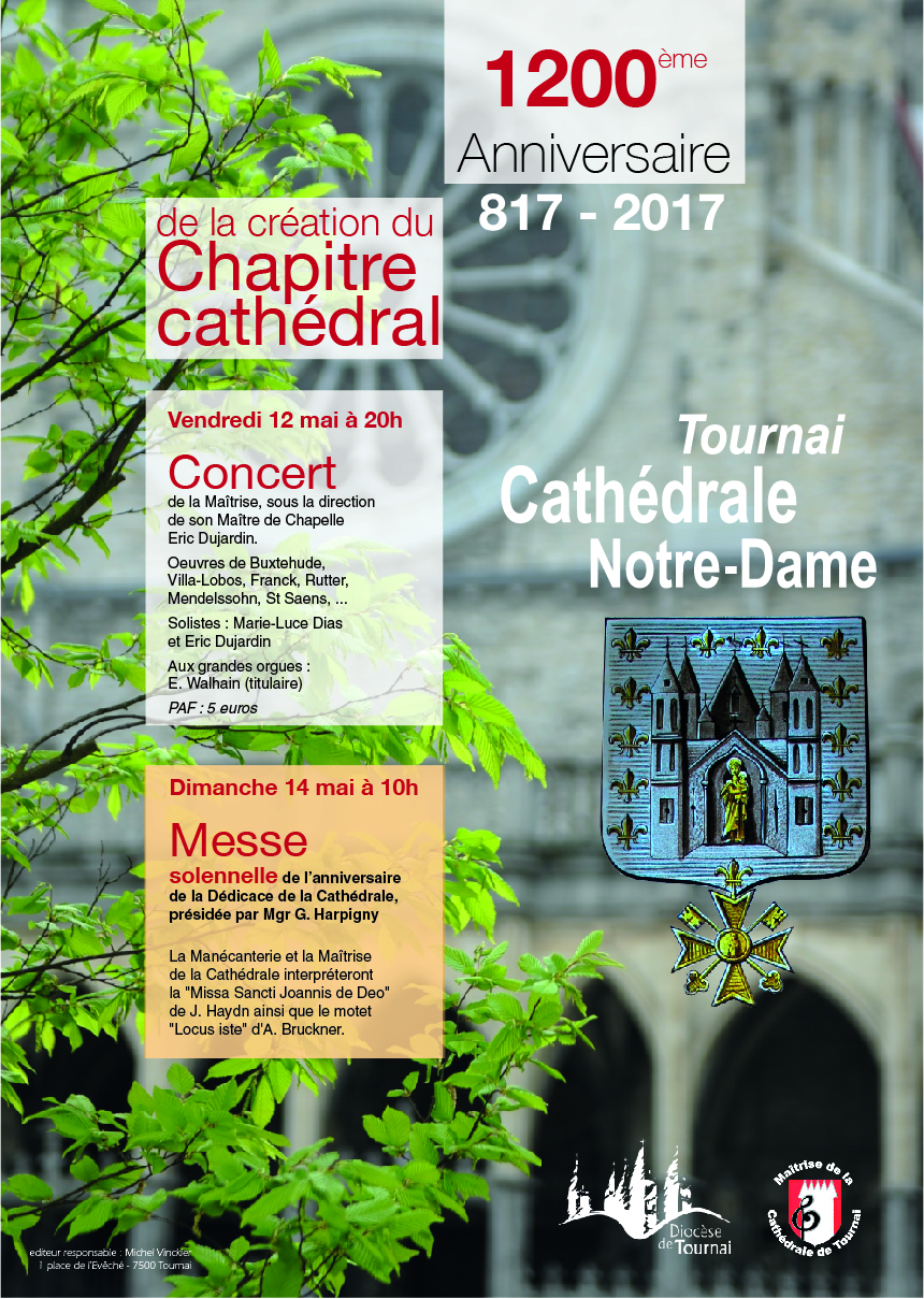 Affiche Chapitre Cathedral 12 14 mai 2017 01